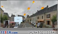 2016: le 21/05 entre 23 h 15 et 0 h 20 - Formes ovales orange et opaques - Lumières étranges dans le ciel  - Luché Pringé - Sarthe (dép.72) 353hkgen