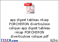 Tableau récapitulatif PORCHERON 3t4na2if