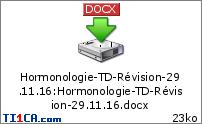 TD Hormonologie : GERMAIN  5eczim8k