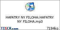 HAFATRY NY FILOHA