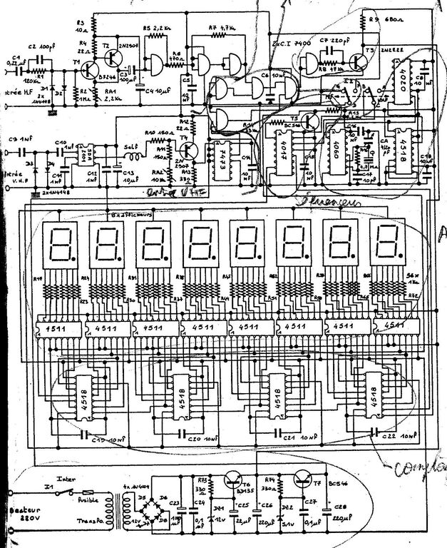 Kit frequencemetre