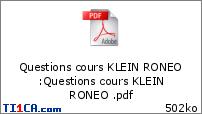 Ronéo 15 Rappels d'histologie - KLEIN - 22/02 Jhvnx0f7