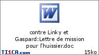 contre Linky et Gaspard : Lettre de mission pour l'huissier.doc