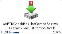 wxETKCheckBoxListComboBox : wxETKCheckBoxListComboBox.h