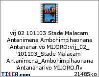 vij 02 101103 Stade Malacam Antanimena Ambohimpihaonana Antananarivo MIJORO