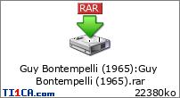 Guy Bontempelli (1965)