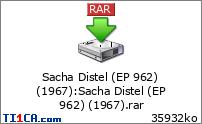 Sacha Distel (EP 962) (1967)