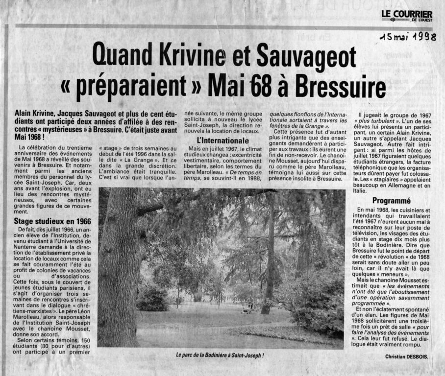Quand Krivine et Sauvageot préparaient mai 68 001 : Quand Krivine et Sauvageot préparaient mai 68 001.jpg