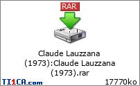 Claude Lauzzana (1973)