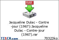 Jacqueline Dulac - Contre-jour (1967)