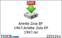 Arlette Zola EP 1967