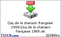 Coq de la chanson française 1959